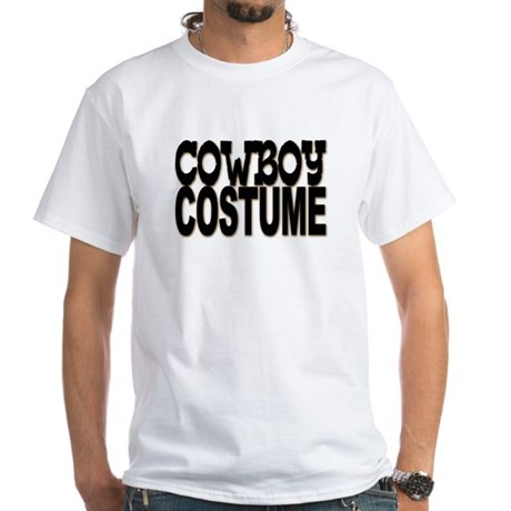 Cowboy Costume White T-Shirt