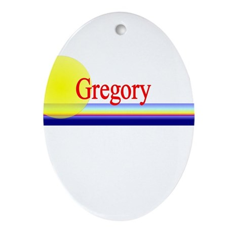 Gregory Oval Ornament