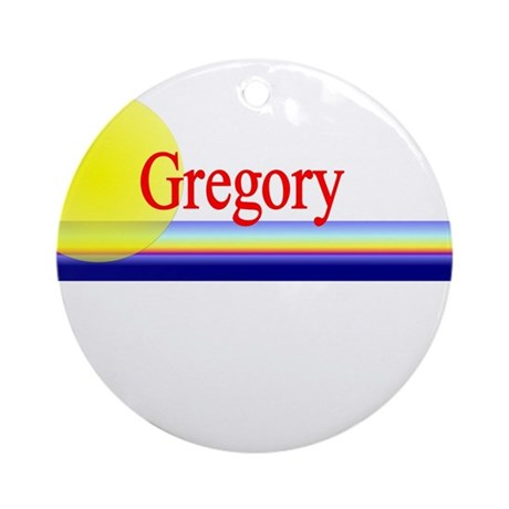Gregory Ornament (Round)
