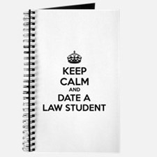 Keep calm and date a law student Journal