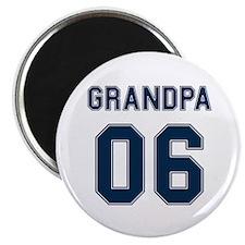 Blue Grandpa 06 Magnet