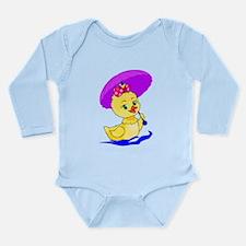 Duck Long Sleeve Infant Bodysuit