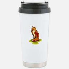Fox Stainless Steel Travel Mug