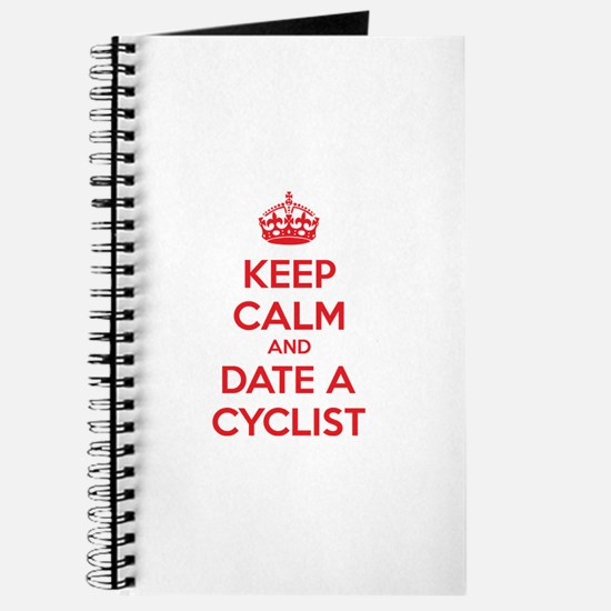 Keep calm and date a cyclist Journal