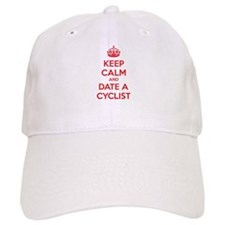 Keep calm and date a cyclist Baseball Cap
