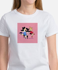 Diva Scotties White Tee