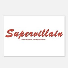 Supervillain Postcards (Package of 8)