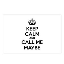 Keep calm and call me maybe Postcards (Package of