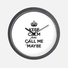 Keep calm and call me maybe Wall Clock