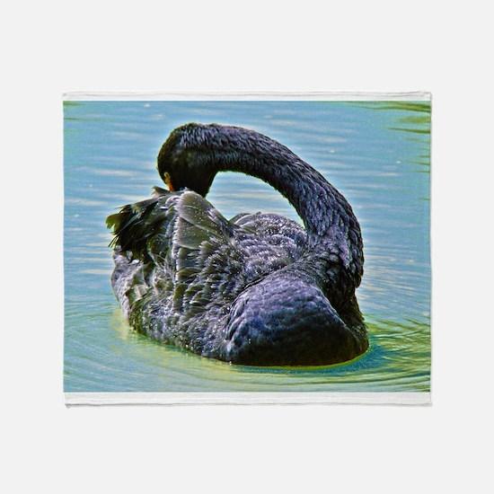 Black Swan Throw Blanket