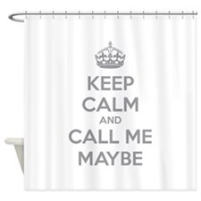 Keep calm and call me maybe Shower Curtain