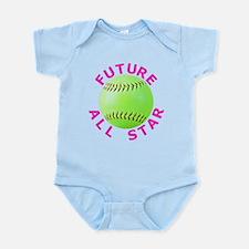 Kids Softball Infant Bodysuit