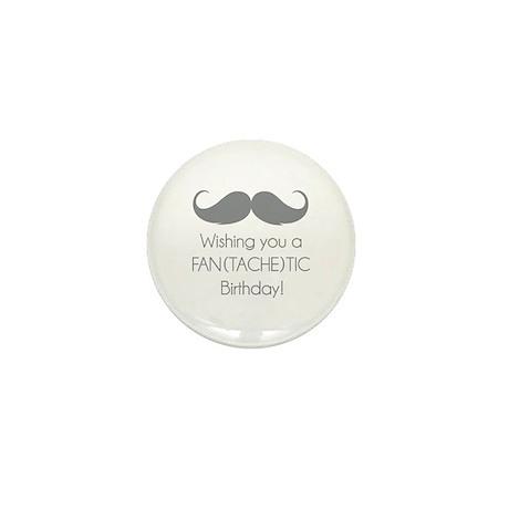 Wishing you a fantachetic birthday! Mini Button (1