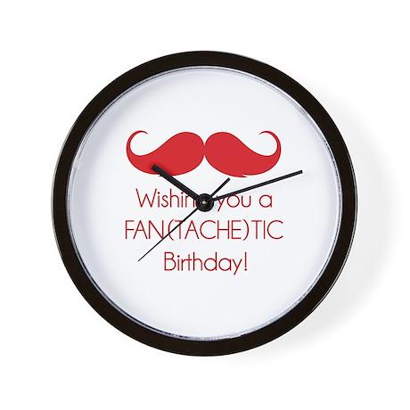 Wishing you a fantachetic birthday! Wall Clock