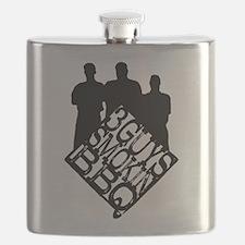 3 Guys Smokin' Flask