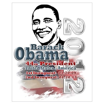 Obama 2012: Wall Art Poster