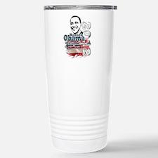 Obama 2012: Stainless Steel Travel Mug