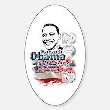 Obama 2012: Sticker (Oval)