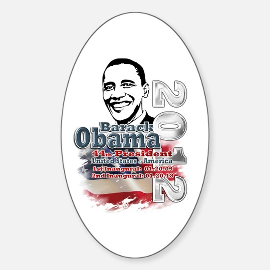 Obama 2012: Sticker (Oval)