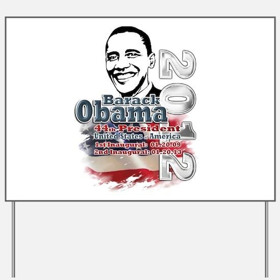 Obama 2012: Yard Sign