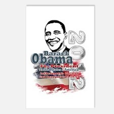 Obama 2012: Postcards (Package of 8)