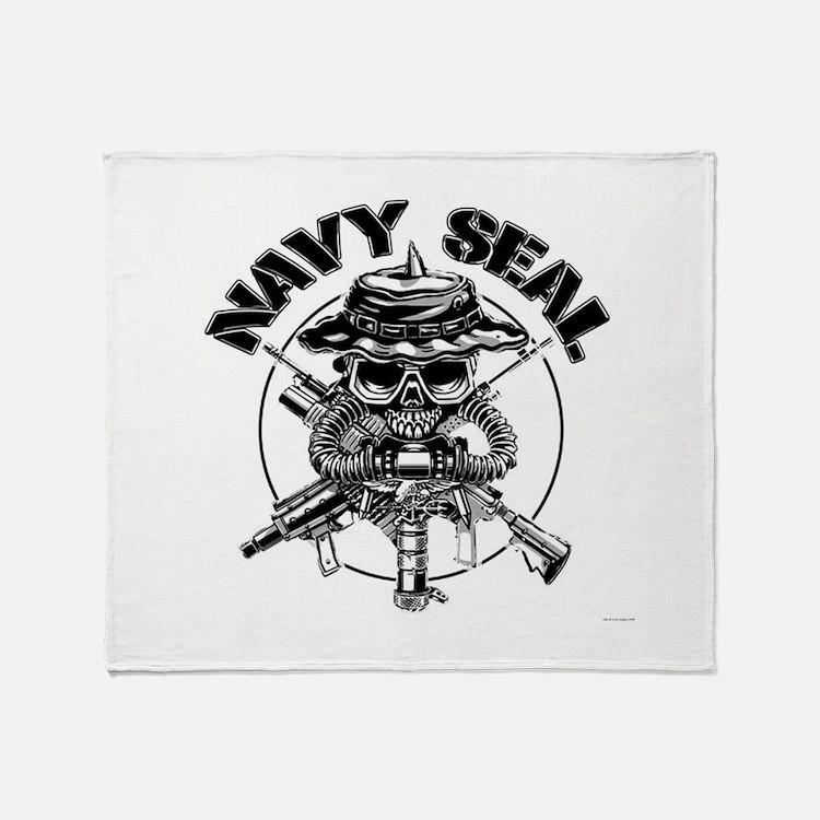 Socom emblem.png Throw Blanket