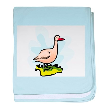 Goose baby blanket