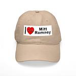 I Love Mitt Romney Cap
