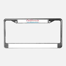 California - Golden State License Plate Frame