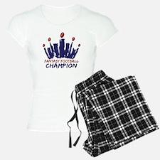 Fantasy Football Champ Crown Pajamas