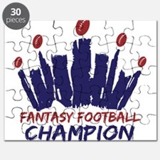 Fantasy Football Champ Crown Puzzle