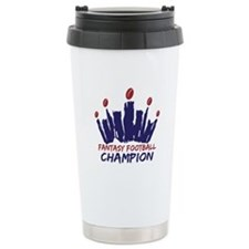 Fantasy Football Champ Crown Travel Mug