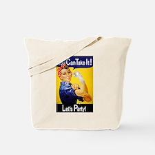 Rosie Fist Tote Bag