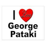 I Love George Pataki Small Poster