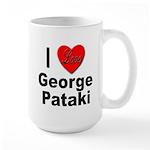 I Love George Pataki Large Mug