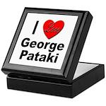 I Love George Pataki Keepsake Box