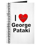 I Love George Pataki Journal