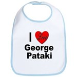 I Love George Pataki Bib
