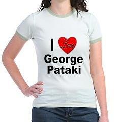 I Love George Pataki (Front) T