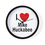I Love Mike Huckabee Wall Clock