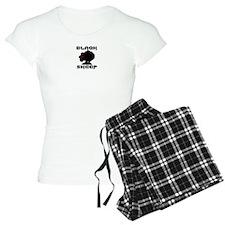 Transparent blaQk Sheep Logo Pajamas