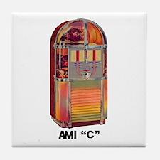 """AMI """"C"""" Tile Coaster"""