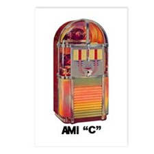"""AMI """"C"""" Postcards (Package of 8)"""