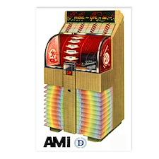 """AMI """"D"""" Beachwood Postcards (Package of 8)"""
