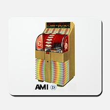 """AMI """"D"""" Beachwood Mousepad"""