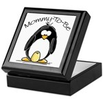 Mommy to Be Penguin Keepsake Box