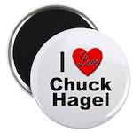 I Love Chuck Hagel Magnet
