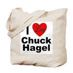 I Love Chuck Hagel Tote Bag