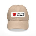 I Love Chuck Hagel Cap