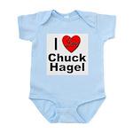 I Love Chuck Hagel Infant Creeper